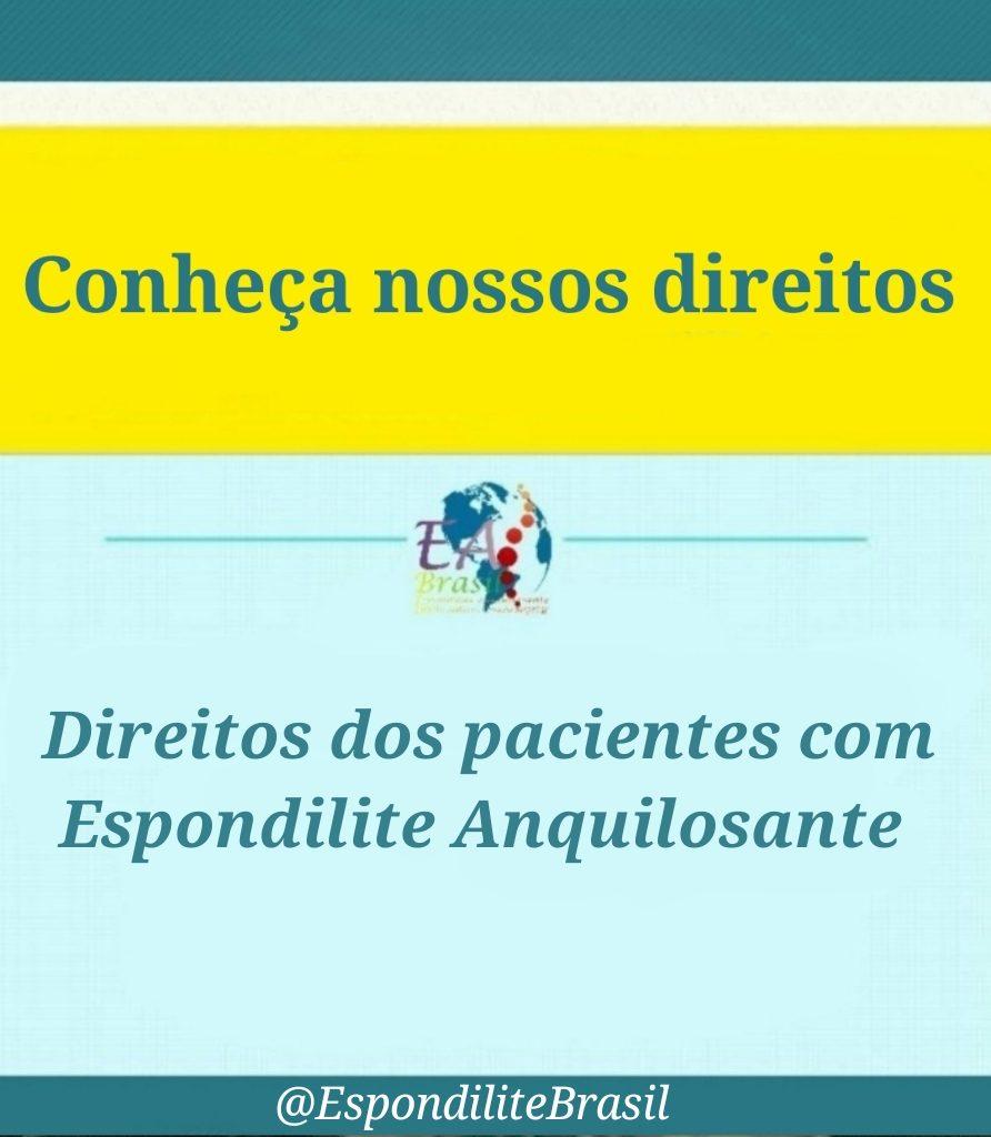 """alt=""""Nossos Direitos; direitos dos pacientes com Espondilite Anquilosante"""""""