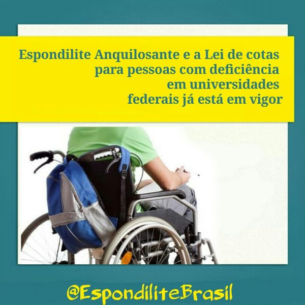 Lei de cotas para pessoas com deficiência em universidades federais já está em vigor