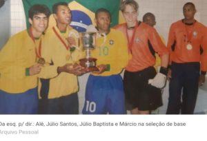 """Alt=""""Jogador de futebol encerra carreira após Espondilite"""""""