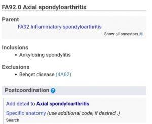 """alt=""""Espondilite novas nomenclaturas no CID11"""""""
