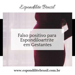 """alt=""""Falso positivo para Espondiloartrite em Gestantes"""""""